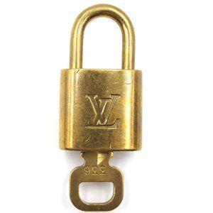 Louis Vuitton Gold Keepall Speedy Lock Key Set#336